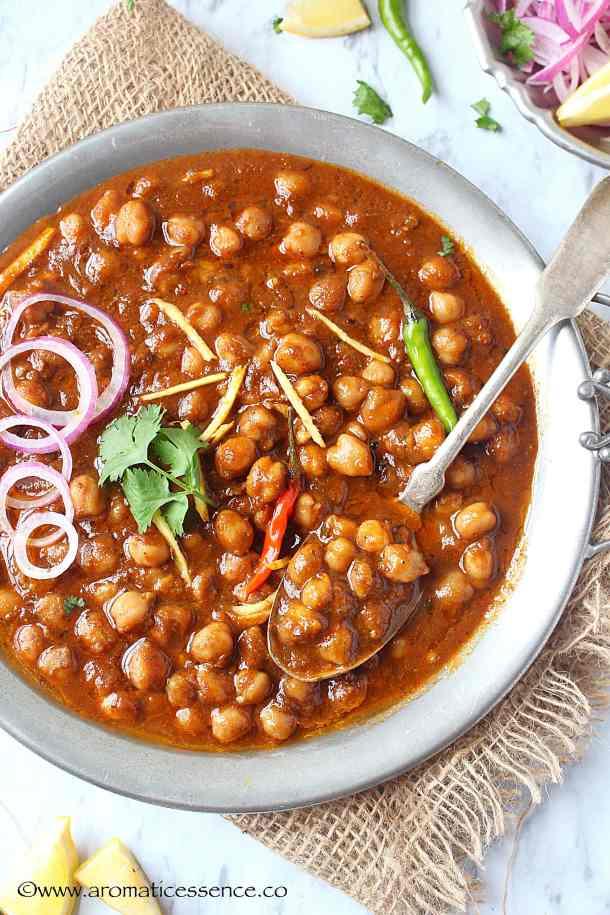 pressure cooker Chana Masala