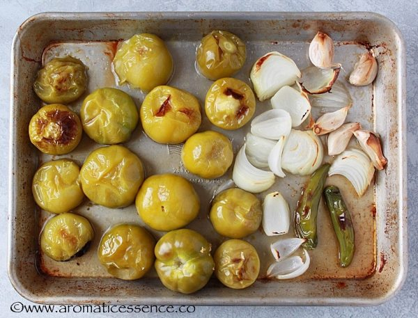 Remove the baking tray from the oven and place on a cooling rack