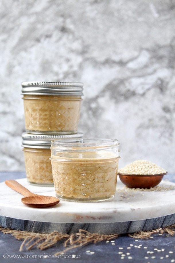 Sesame seed paste