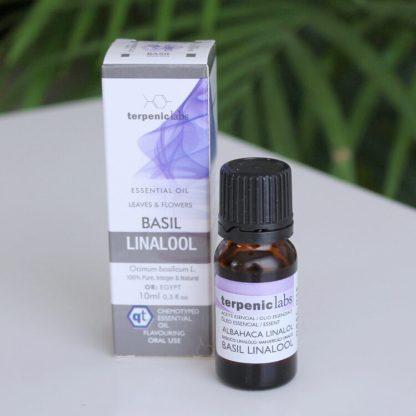 Esenciální olej bazalka linalol potravinářsá kvalita