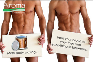 aroma waxing clinic male body waxing manscaping brazilian wax