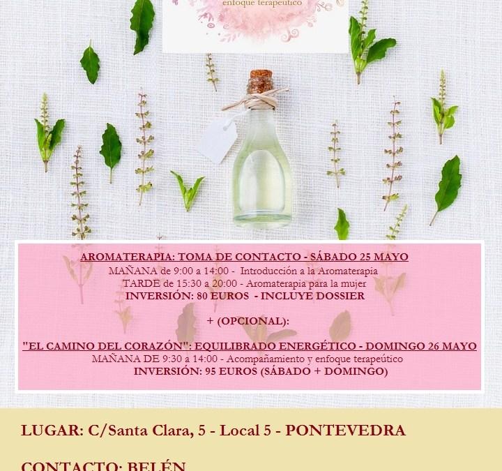 Formación presencial de fin de semana en Pontevedra (Galicia), sábado 25  y domingo 26 de Mayo