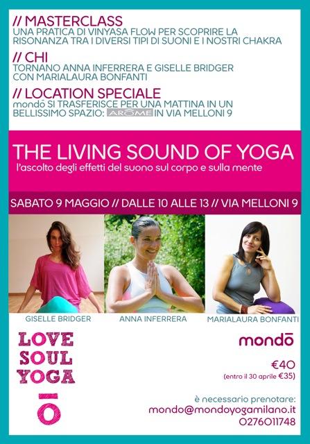 locandina yoga