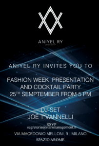Aniyel Ry invetes you