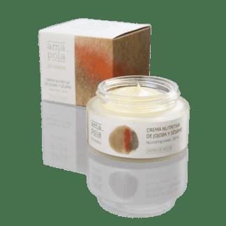 Crema Facial jojoba y sesamo - 50ml -