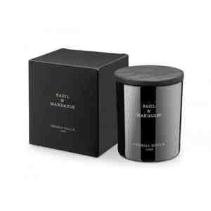 Premium Vela vaso-Basil & Mandarin