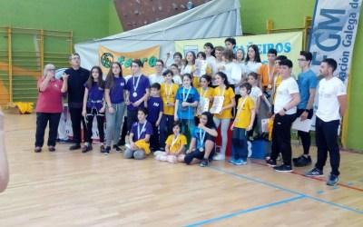 1° Proba da Copa galega de escalada base 2019