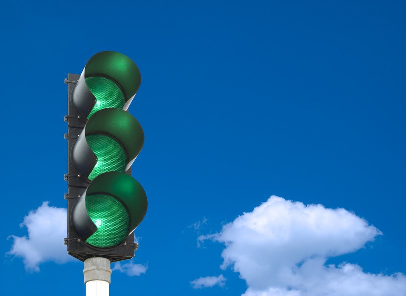 green traffic lights mentoring