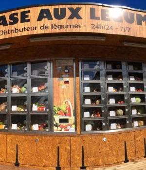 distributeur automatique de fruits et légumes