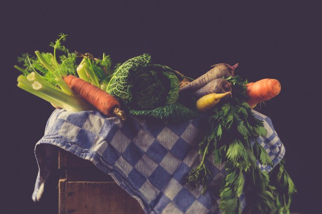 panier de légumes entre particuliers