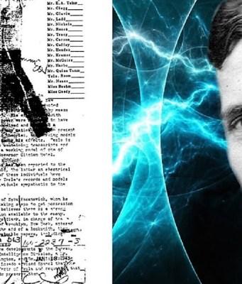 300 documents secrets de Nikola Tesla maintenant disponibles