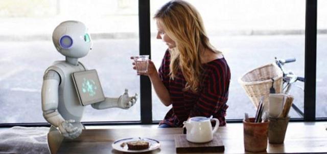 i_pepper le tout premier robot capable de lire les émotions