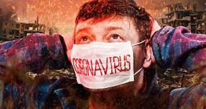 Coronavirus Panique Apocalypse Ville région