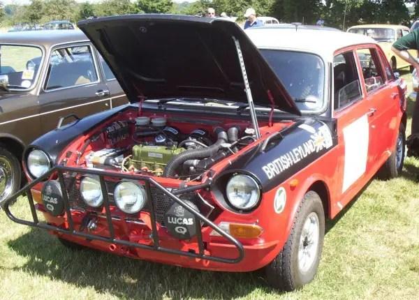 Ken Green's ex-Works Landcrab... a unique car.