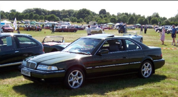 John Capon's stunning Rover Vitesse Coupe was one car that generated huge amounts of interest on the stand - surely the best example of a sure-fire future classic (photo by Kevin Davis).