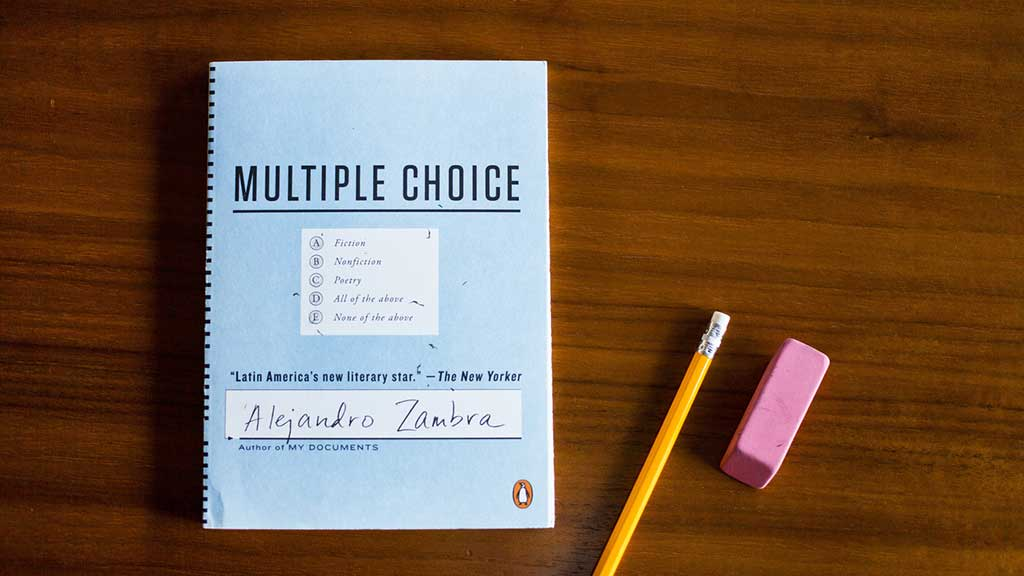 Multiple Choice Alejandro Zambra
