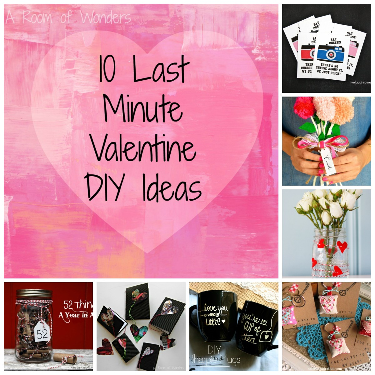 Projects I Like 10 Last Minute Valentine Diy Ideas A
