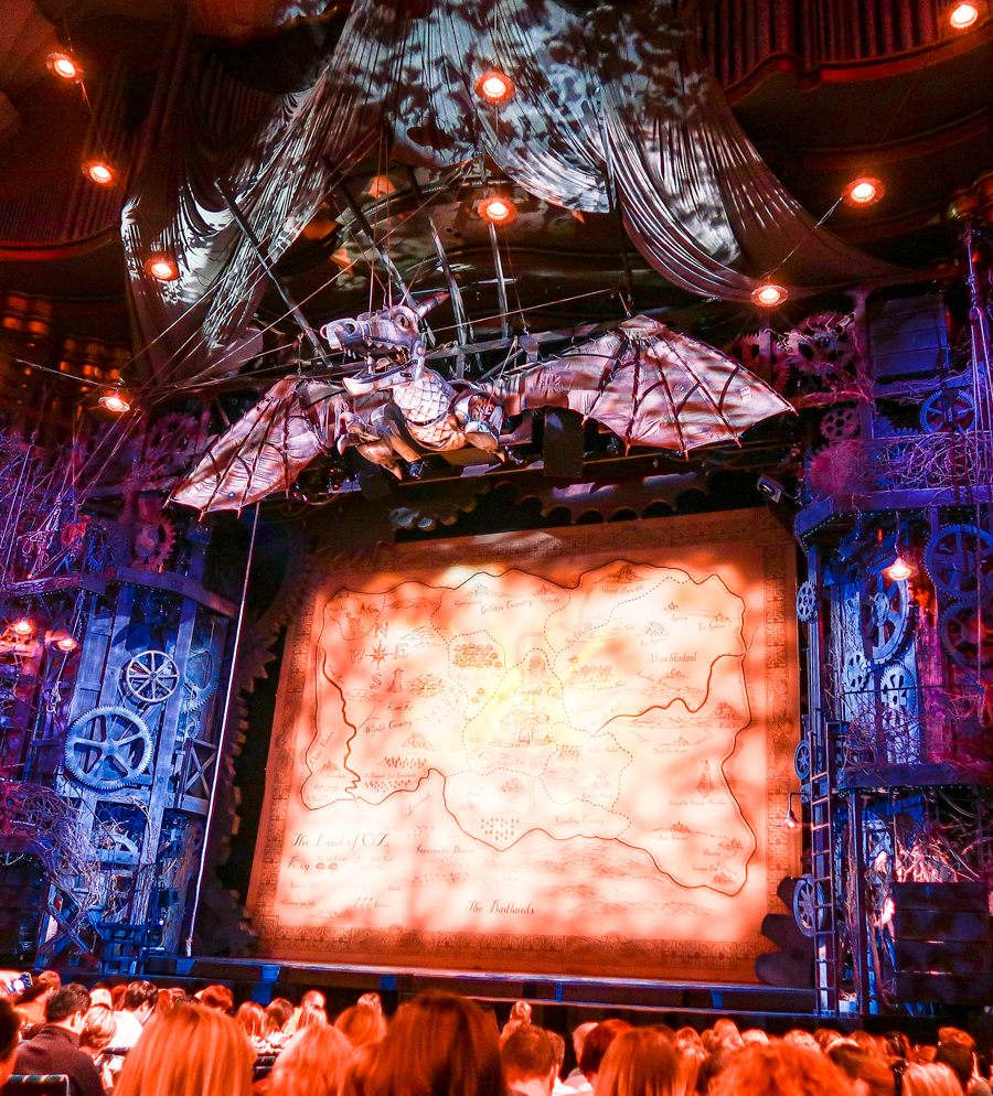 The Stage Is Set For Wicked The Musical