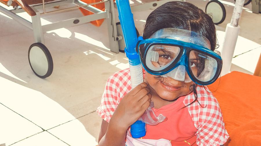 Shalini Snorkelling