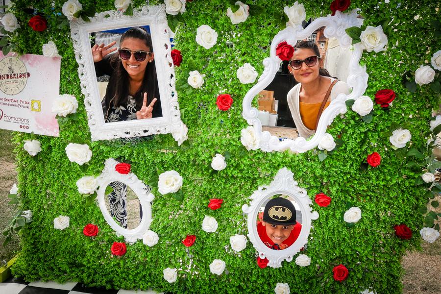 Midsummer's Day Dream - We enjoy the Alice in Wonderland props