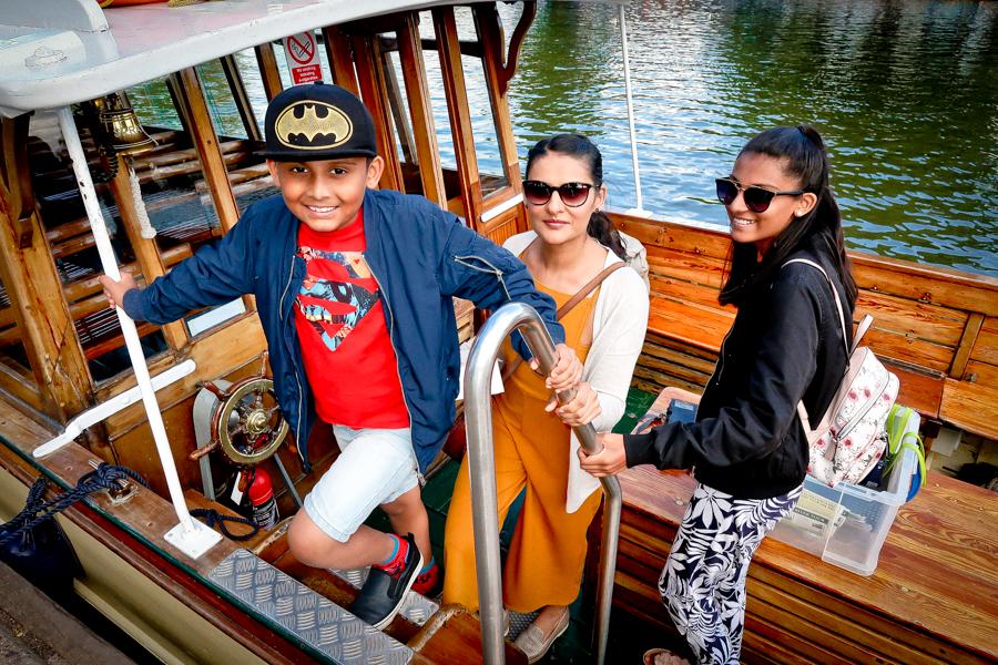 Midsummer's Day Dream - Enjoying A River Cruise