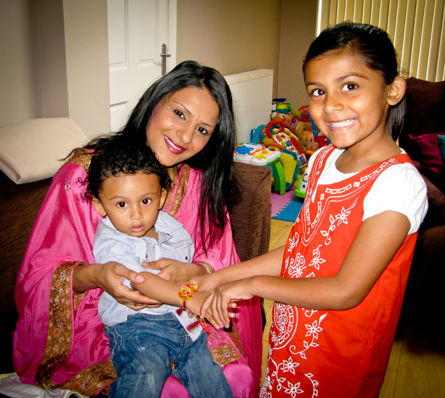 Brother-Sister Day - Shalini Ties A Rakhi on Shivam