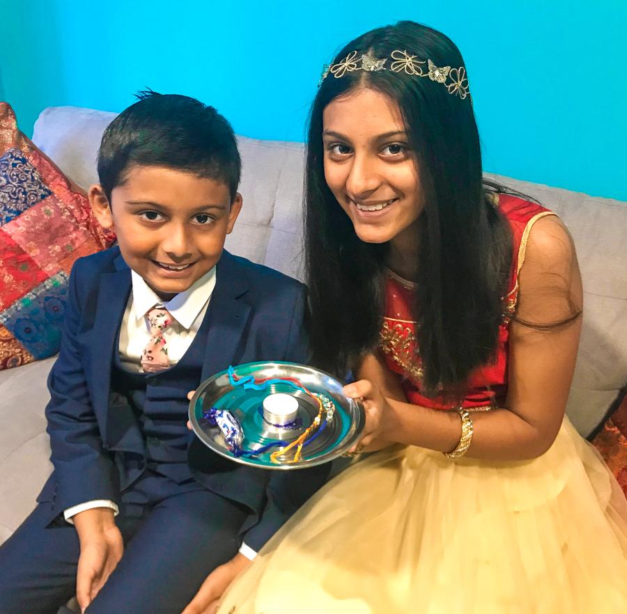 Brother-Sister Day - Shalini And Shivam on Rakhi 2018