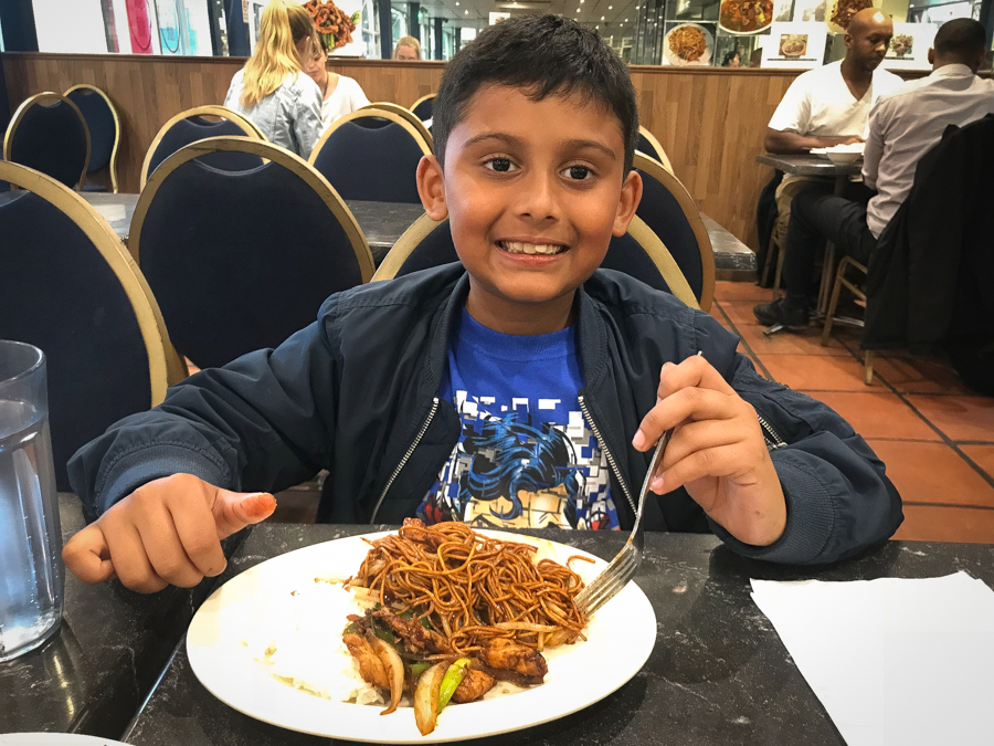 We Love Chinese - Shivam looks forward to his chow mein