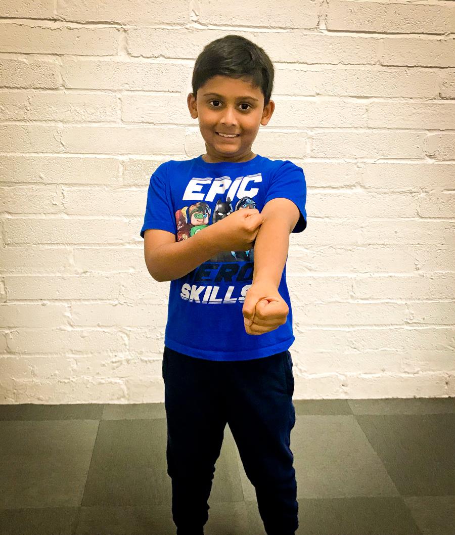 Active Kids - Shivam At Wing Chun