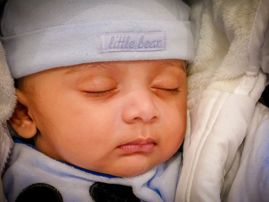 A Poem For Shivam - Sleeping as a baby