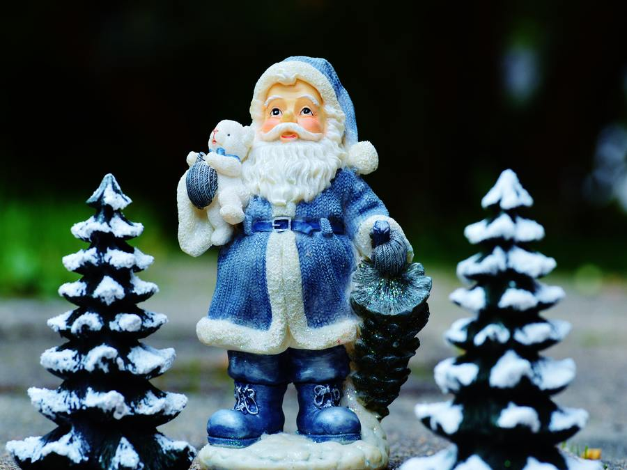 Why I Celebrate Christmas - Santa Decoration