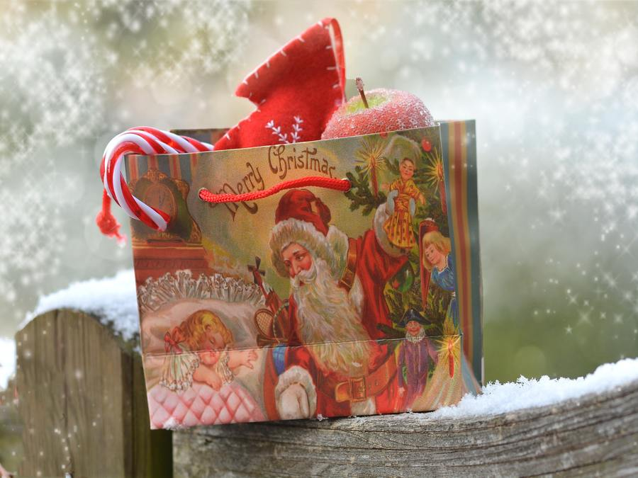 Dear Santa - Santa Gift Bag