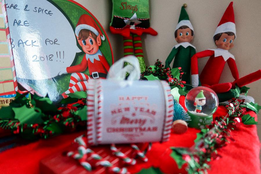 Dear Santa - Elf On The Shelf