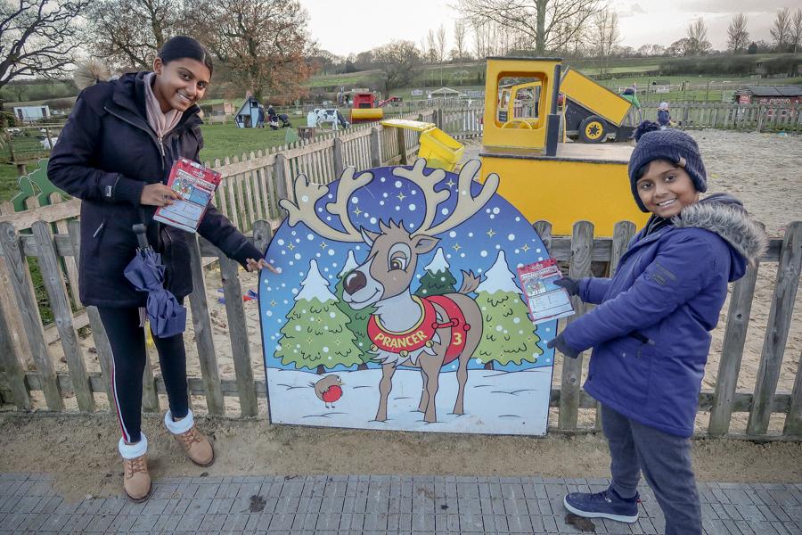 Visiting Santa At Hatton - Reindeer Quest