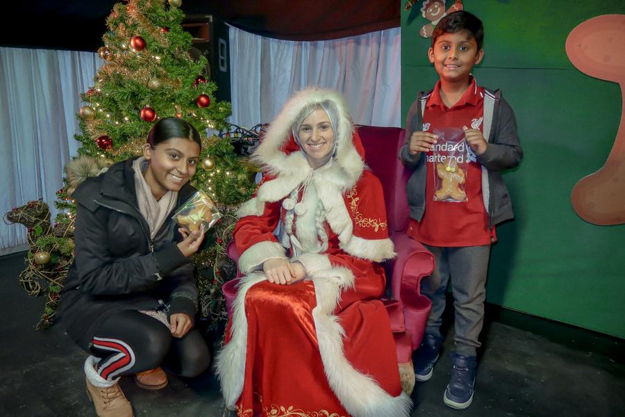 Visiting Santa At Hatton - Mrs Claus