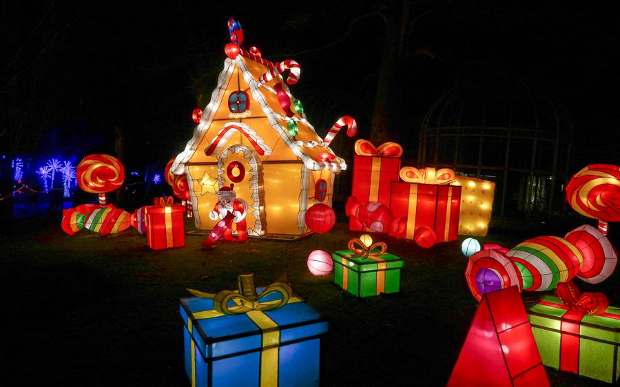 Magical Lantern - Gingerbread House