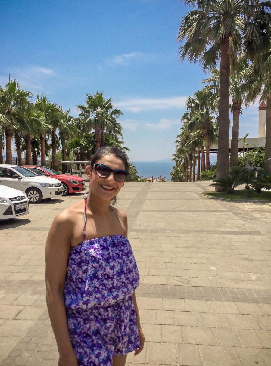 Me in sunny Bodrum, Turkey