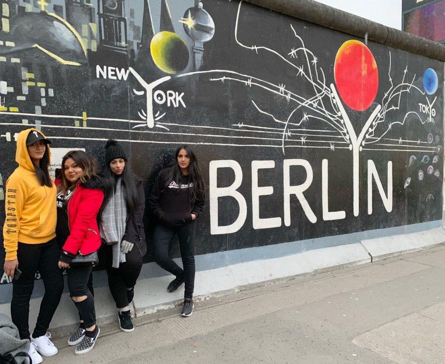 Zayna and her girls in Berlin