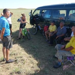 Abschied von unserem mongolischen Team