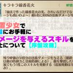 ゲームアプリ放置少女で序盤にお手軽にダメージを与えるスキルを持つ謀士について【序盤攻略】