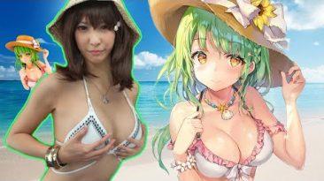 Momoko Original Illustration Yukari Swimsuite Version by Daikikougyou