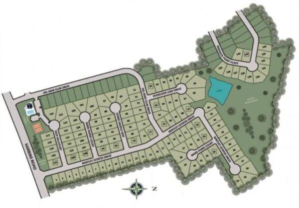 Del Mar Club Site Plan