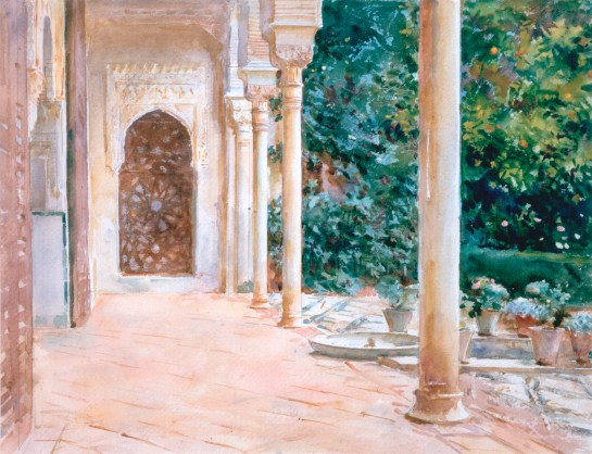 The Loggia by John Singer Sargent Aberdeen Art Gallery and Museums Collection