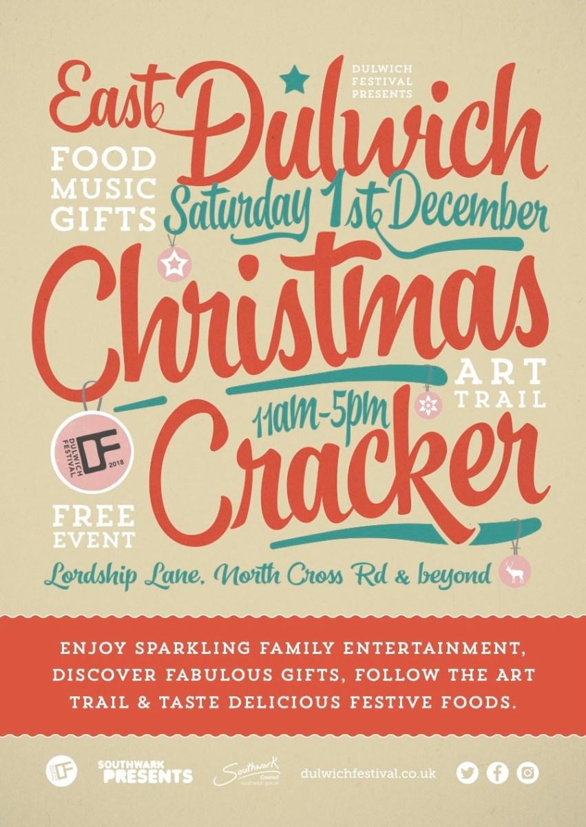 East Dulwich Christmas Cracker 2018