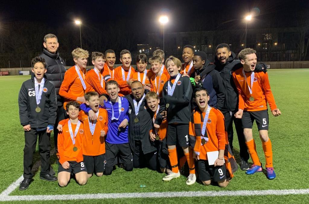 Dulwich Village FC wins the 2020 U14 London Cup