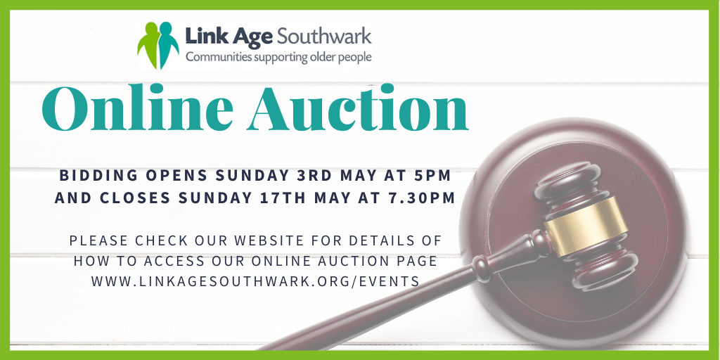 Link Age Southwark's auction is live – bid now!