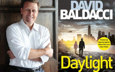A thrilling evening with David Baldacci