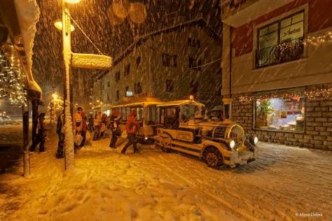 folgaria - trenino della neve