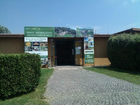 Parco di Vulci Ingresso