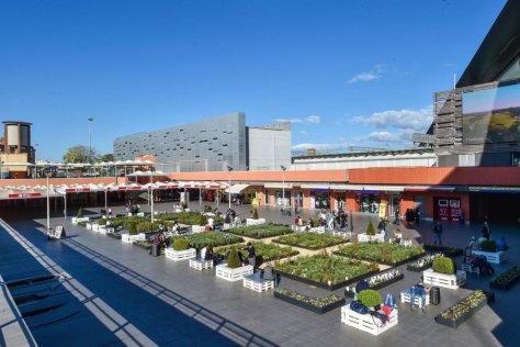Roma, stazione Tiburtina, il nuovo orto urbano della stazione